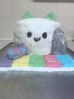 bongo cat cake